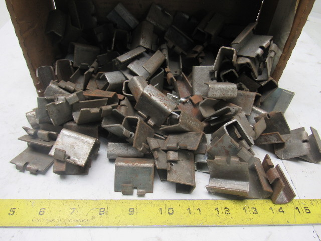 Burroughs Shelf Clips Shelving Replacement Parts Steel Racking Lot Of 120