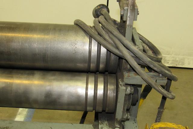48 Quot Heavy Gauge Power Slip Plate Roller 3hp 208 230 480v 3
