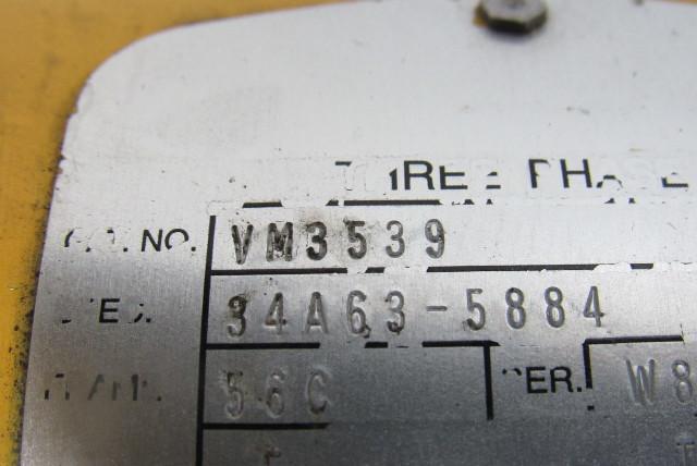 Flexaline VM3539 30:1 Ratio 208-230/460V  5Hp Gear Motor Sprocket Assembly
