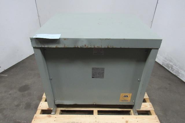 Acme T-1A-53314-3S 480V Hi 208/120V Lo 75kVa 60Hz 3Ph Type 2 Transformer