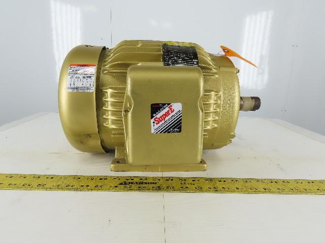 Baldor Reliance EM3769T 7.5Hp Electric Motor 213T Frame 208-230/460V 3P 3510 RPM