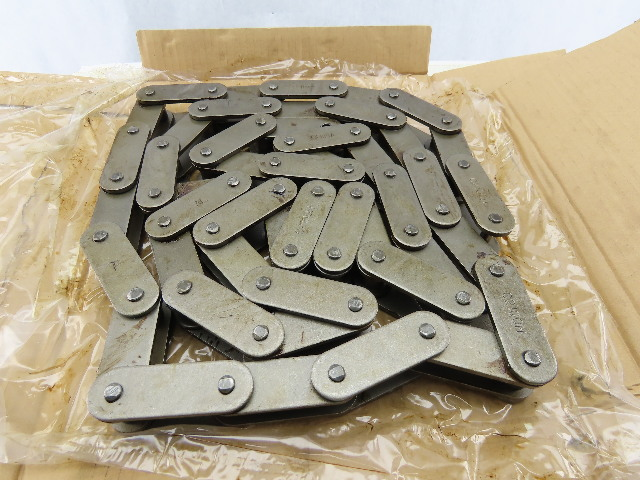 """SKF C2100H-1x10FT 63.50mm 2-1/2"""" Pitch Riveted Conveyor Roller Chain 10'"""