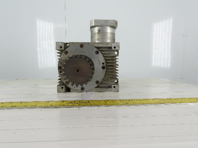 GUEL Worm Gear Reducer 8:1 Ratio Right Angle