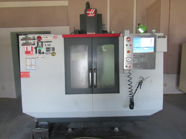 """HAAS TM-1P Toolroom Mill w/Tool Changer 2013 208/240V 1 or 3 Phase 30""""x12""""x16"""""""