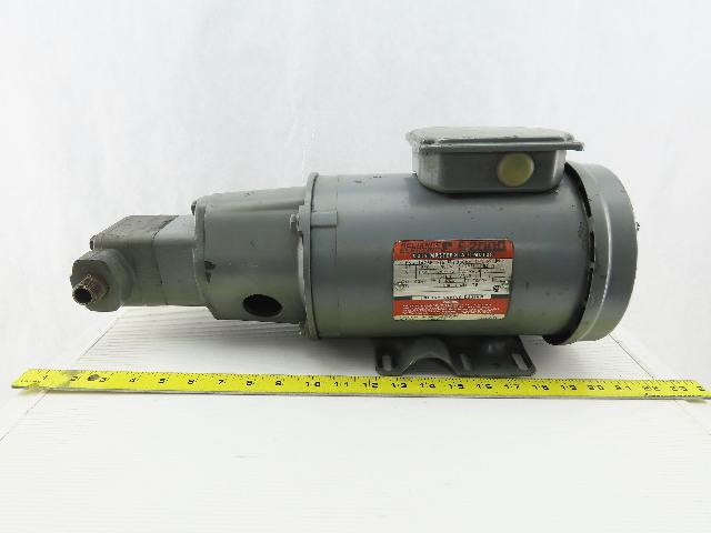 Vickers V10 1P5P 1C 20 2Hp 1725RPM 208-230/460V 12.8 GPM Vane Pump