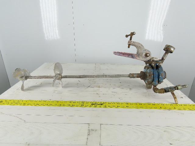 """Clamp on 32"""" Depth Drum Barrel Pneumatic Air Material Mixer Agitator Blender"""