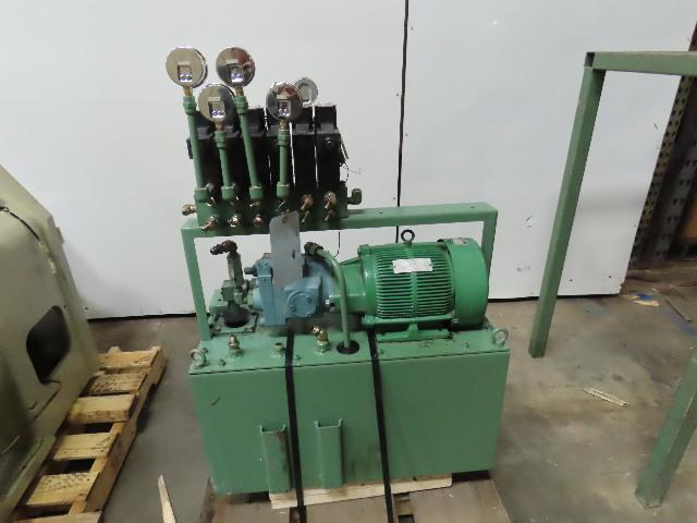 Daikin V23A2R-30 22 Gal 2.2Kw 3Ph 200/220V 50/60Hz Hydraulic Power Unit & Valves