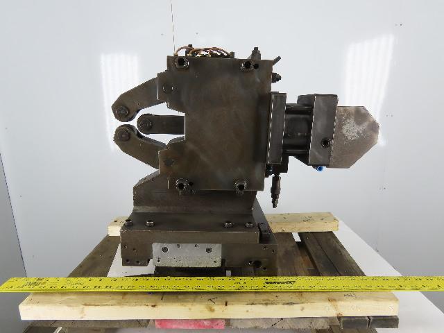 SMW SLK212 Hydraulic Self Centering Steady Rest On Gib Casting Off Mazak 40N-ATC