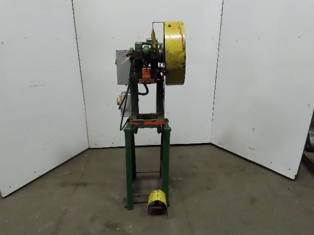 """Rousselle 0E Mechanical 5 Ton OBI Punch Press 1-1/4"""" Stroke 4"""" Throat 115/230V"""