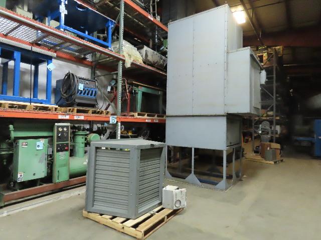 ICE BMA-127-VRS 25000 CFM 15Hp 1760RPM 208V Natural Gas Heated Air Makeup Unit