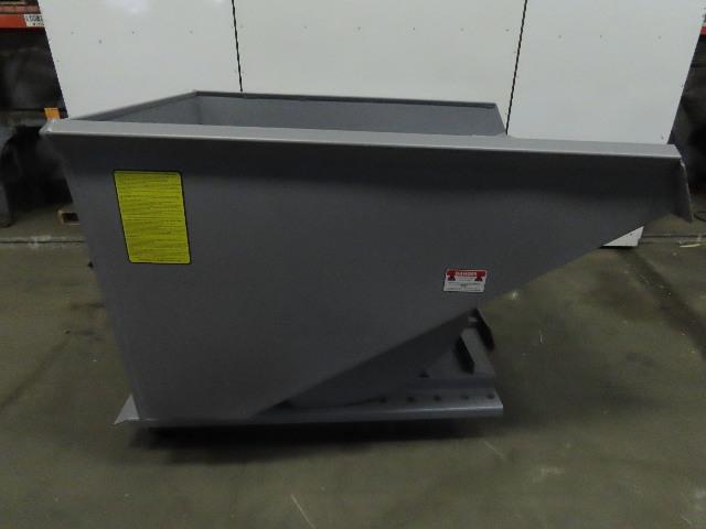 Iron Bull Big Bull Series Self Dumping Trash Scrap Hopper 1-1/2 Yard Capacity