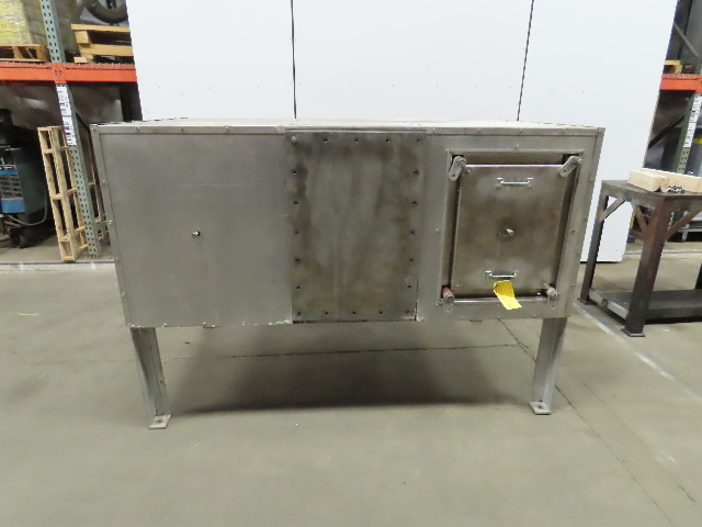 """Steam Coil Forced Air Downdraft Thermal Process Dryer SS 76"""" x 43"""" See Info"""