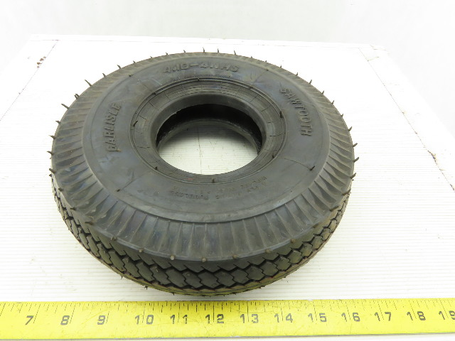 Carlisle 4.10-4NHS Sawtooth Tubeless 50 PSI Tire