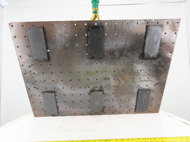 """27-1//2 x 39-1//4/"""" Plate Steel 3//4/"""" Thick Layout Setup Workholding Jig"""