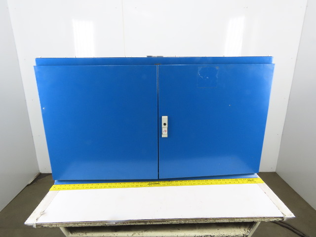 """27x47x14"""" Electrical Enclosure Double Door W/ Back Plate"""
