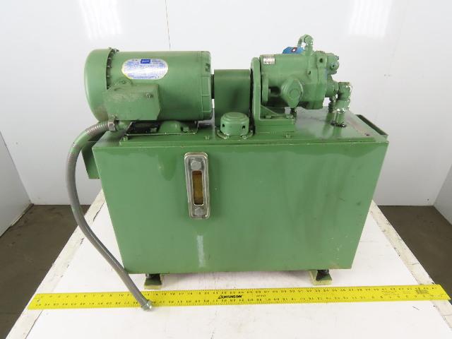 Sperry Vickers PVB6A 1.5Hp 1725RPM 208-230/460V 18 USG Hydraulic Power Unit