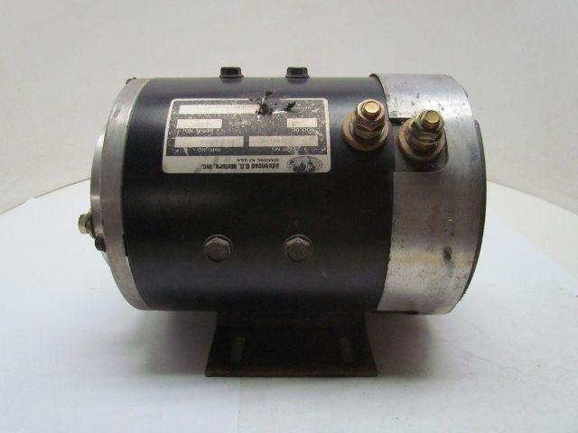 Advanced 48 volt d c 3160194 hydraulic pump drive motor for 48 volt dc motor