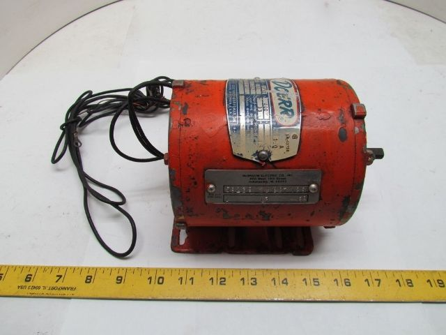 Doerr Lr 13758 1 10hp 3ph 440v 60hz 1725rpm Electric Motor