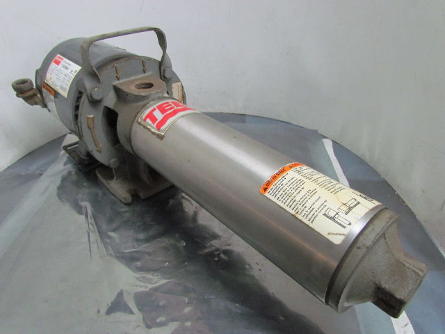 Replacement Air Compressor Pump >> Dayton/Teel 2P019B 3N088H 12 Multi-Stage Booster Pump 3/4 ...