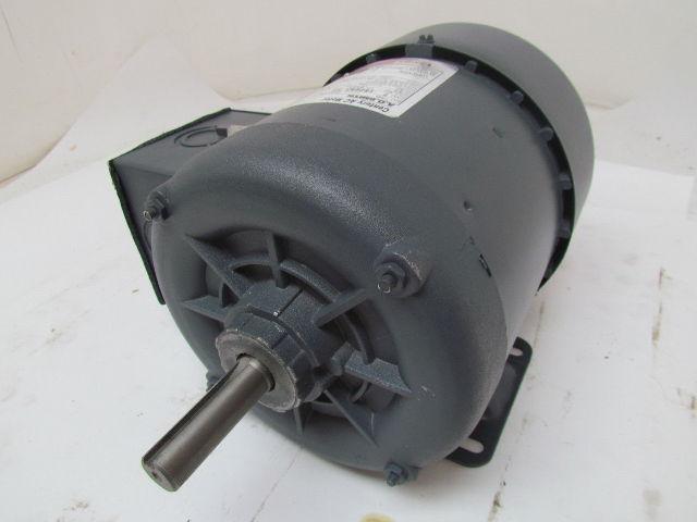 Ao Smith H869 Tefc Electric Motor 3  4 Hp 3ph 1725rpm 200