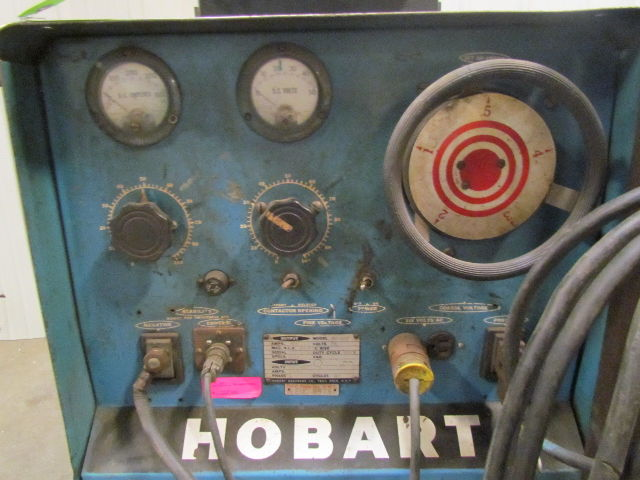 Miller Welders For Sale >> Hobart RC-200 200 Amp 3 Phase Welder With Cart + Wire Feed ...