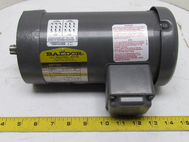 Baldor mvm3461c electric motor 37kw 1 2hp 230 60v 3 ph for Baldor electric motors for sale
