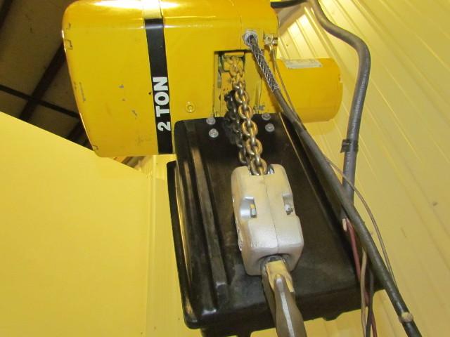 Yale Kel2 22nh71 2s2 2 Ton Electric Chain Hoist 230 460v