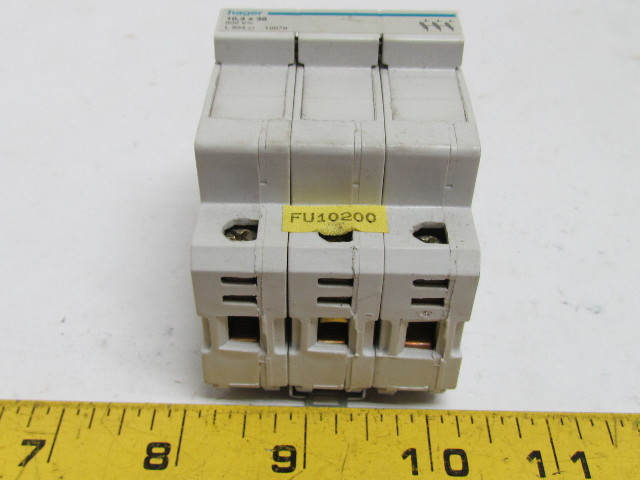 52855 hager l503 fuse carrier holder 3 pole 103x38mm fuse 500v 5 hager l503 fuse carrier holder 3 pole 10 3x38mm fuse 500v changing a fuse in a hager fuse box at alyssarenee.co