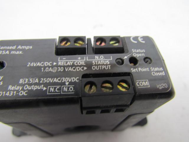 Veris H748 Adjustable Trip Current Switch 250VAC30VDC Bullseye
