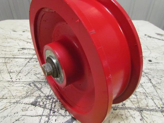 10 Quot X2 1 2 Quot Ductile Steel Double Flange Track Wheel Caster