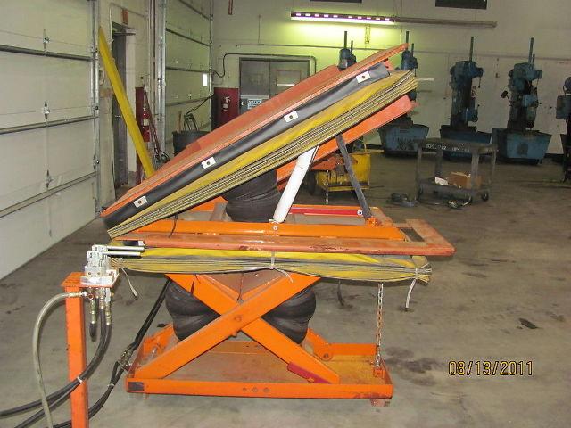 Knight Industries Side Load 4000lb Capacity Lift Amp Tilt