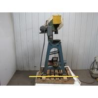 "ALVA Allen BT-5 Mechanical 5 Ton OBI Punch Press 1-1/2"" Stroke 4"" Throat 1/3Hp"