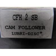 """McGill CFH 2 SB Cam Follower Bearing 2"""" Dia. 1.250"""" Wide 1.125"""" Stud Dia."""