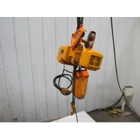 130161 harrington size b ner005l 1 2 ton electric chain hoist 10 lift 460v 3ph tested harrington hoist 460 volt wiring diagram gandul 45 77 79 119  at readyjetset.co