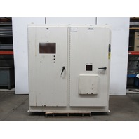 """JIC Electrical Enclosure Cabinet 78""""x18""""x84"""" W/60A Disconnect & Back Plate"""
