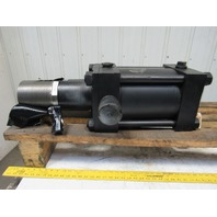 "8"" Bore 6"" Stroke Hydraulic Cylinder Trunnion Mount 5""-12 Threaded Shaft"