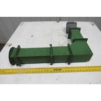 "4"" x 4"" Wireway Auxiliary Gutter Conduit 90° Elbow"