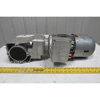 Nord SK 92372.1V-90LP/4 5.83:1 2Hp 50/60Hz 296RPM 265/460V RH Output Gear Motor