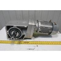 Nord SK 92772.1V-90LH/4 21.14:1 Ratio 81.5RPM 265/460V 50/60Hz LH Gear Motor