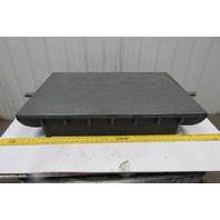 "36"" x 24""  Cast Iron Webbed Lapping Calibration Hand Scraped Surface Plate"