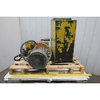 Hydro Pak 10Hp Vickers V101P5P1D20 230/460V 6.25GPM 32Gal Hydraulic Power Unit