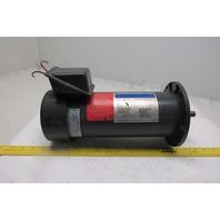 "Boston Gear PM1875ATF-I 180V DC 3/4Hp 1725RPM Direct Current Motor 5/8"" Shaft"