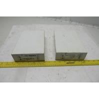 Zurm Z8700-PC Chrome Cast Body P-trap 17ga Lot of 2