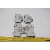 Gould USCC1 Ultra Safe 30A 1Pole 600V Fuse Holder Lot of 4