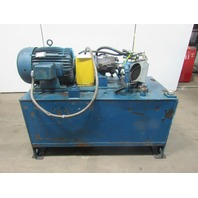 25Hp 165 Gal. Hydraulic Power Unit Vickers PVB29-RS-20-CM-11 Pump 29GPM 1500PSI