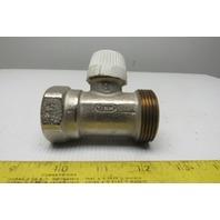 """Honeywell V2040DSL25 THV-SL-NPT 1"""" NPT Thermostatic Radiator Valve Straight Body"""