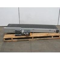 """Slider Bed Conveyor 18""""W Belt 75"""" Long 170FPM 208-230/460V 3Ph"""