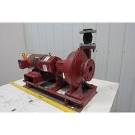 Bell & Gossett 1510 Base Mounted End Suction Pump 5HP 208-230/460V 3Ph
