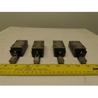 "THK SHS15 UN9E26 Size 15 4-1/4"" Long Guide Rail And Linear Bearing Lot Of 4"