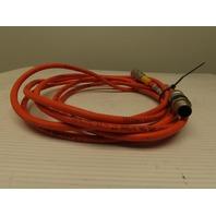 Turck U2177-35 RK 4.4T-10/S101/CS10299 Cordset 600V 4A Cable Assembly